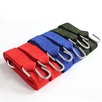 HEWOLF 280CM 4 5CM Outdoor Hammock Dedicated Puttee Swing Dedicated Straps Nylon With Steel Ring Camping
