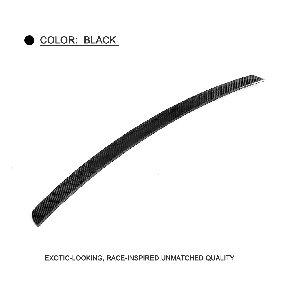 Rear Trunk Top Spoiler Wing for BMW X5 M Sport Base Sport X Drive 35i 40e 50i Sport Utility 4 Door 2014 -18 Carbon Fiber