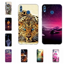 For Huawei Honor 8X Max Cover Ultra-thin Soft TPU Silicone Case Girl Patterned Enjoy Coque Bag
