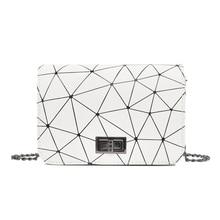 Crossbody Bags For Women New Fashion Womens Handbags Shoulder Bags Geometry Plaid Messenger Bag Hasp Closure Hot Selling Bag