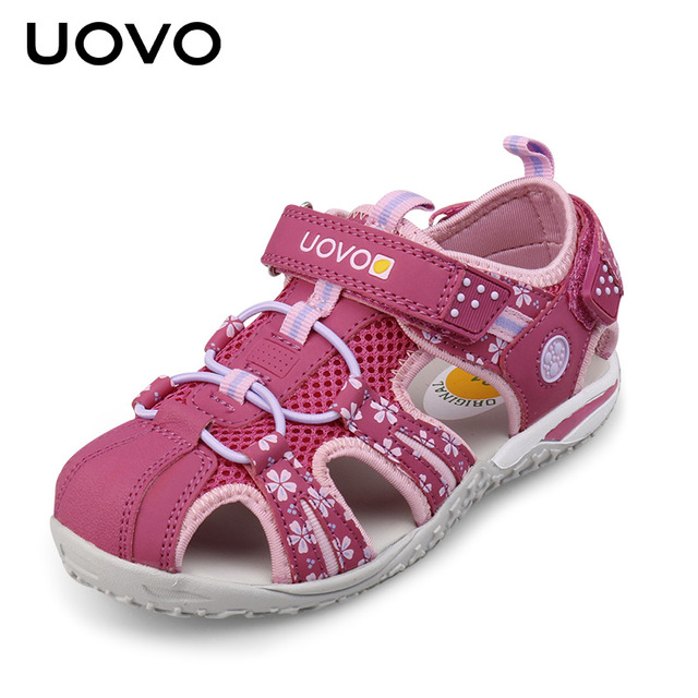 Uovo Children Shoes Girls Shoes Sandals Summer Closed Toe