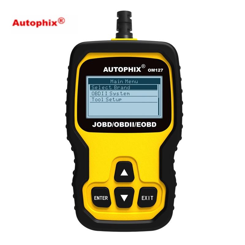 US $55 0 |AUTOPHIX OM127 JOBD/OBDII/EOBD for Toyota/ Honda/ Nissan Japanese  Car Erase Fault Code Reader Diagnostic Tool on Aliexpress com | Alibaba