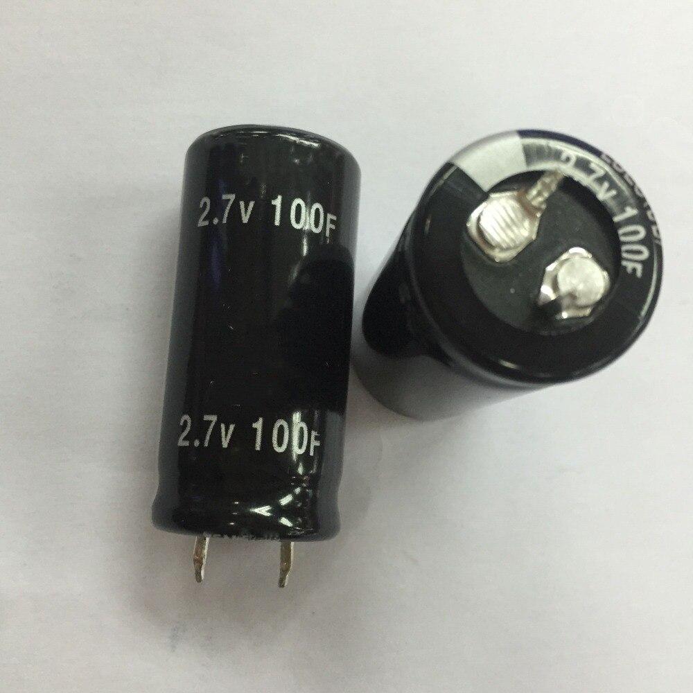 Free Shipping 5pcs And Original Super Capacitor 2.7v 100f 2.7v100f Farad