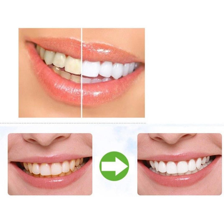 Teeth Pemutih Bubuk Kapasitas Besar Gigi Alami Diaktifkan Arang