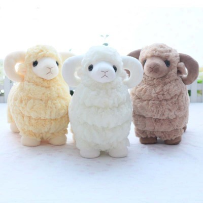 Baby Soft Toy Stuffed Animal Sheep Mutton Goat 3 Colors High Quality
