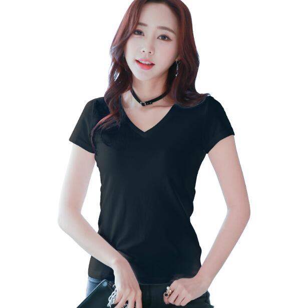 Plus Size S-3XL New Fashion Womens Cotton short white T-shirt 2018 Summer Women Casual Short-sleeved T-shirts Female shirt
