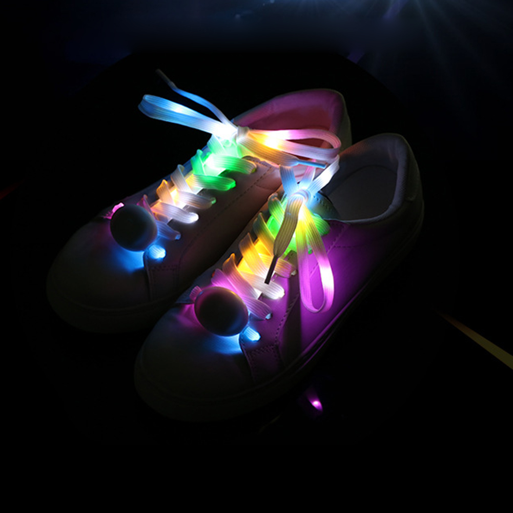 1 Pair LED Flash Luminous Nylon Shoe Laces Party Skating Running Disco Shoelace led crystal pendant lights for dining room kitchen restaurant lighting modern pendant lamp indoor led fixtures luminaire light