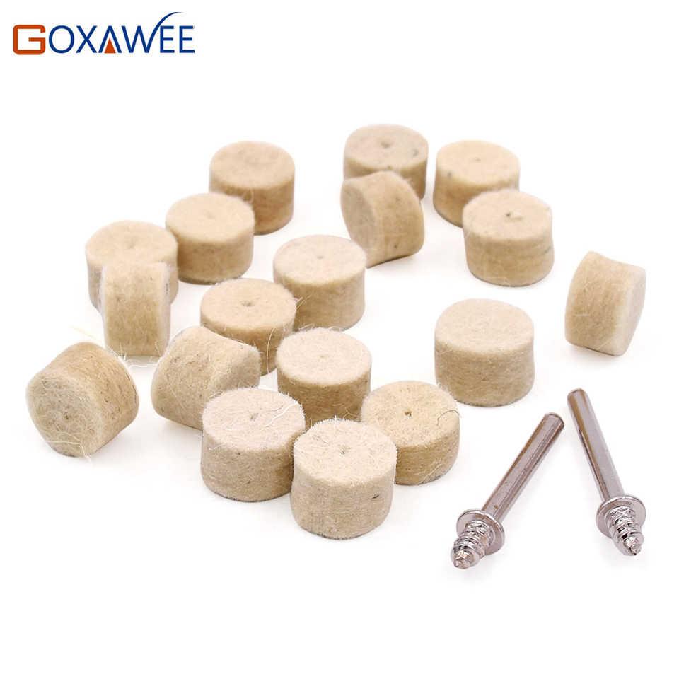 GOXAWEE 10 قطعة أدوات دريمل الروتاري اتصال المندرات لفاف مادة لاصقة صغيرة s دريمل اكسسوارات لفاف مادة لاصقة المندرات 3.0 مللي متر عرقوب