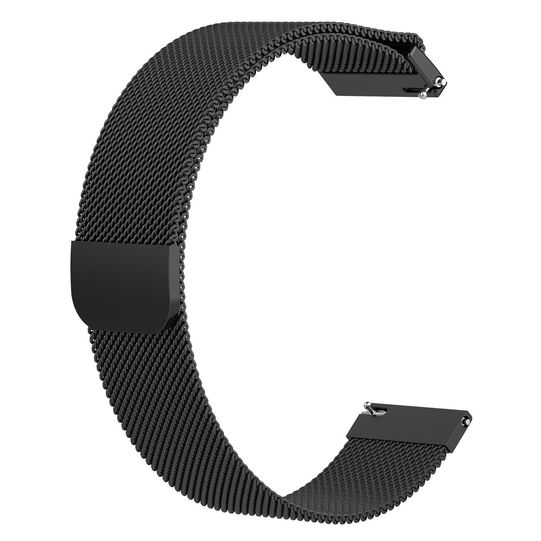 Bracelet de luxe en acier inoxydable de marque haut tendance pour Huawei Magic/montre GT/Ticwatch ProBracelet de luxe en acier inoxydable de marque haut tendance pour Huawei Magic/montre GT/Ticwatch Pro