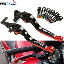 цена на For Honda RVF750R RC45 RVF400 NC35 1994-1999 Motorcycle Accessories Folding Extendable CNC Moto Adjustable Clutch Brake Levers