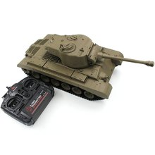 HOT HENGLONG 2.4G Remote Control 1:16 Simulation Heavy AR Battle Tank Models RC Automatic Vehicle Toys Car for Children Boy Gift
