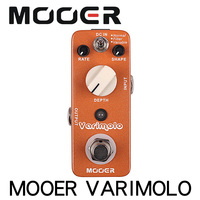 NEW Effect Pedal MOOER Varimolo High quality digital tremolo pedal with three different tremolo modes effect Pedal guitar parts