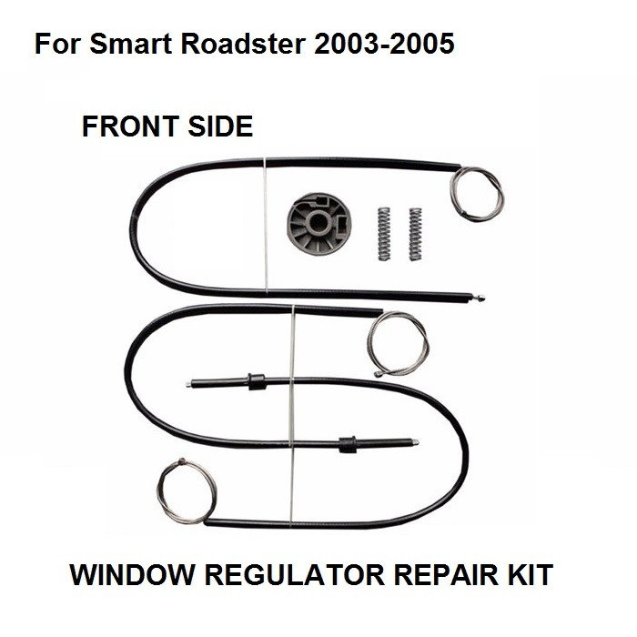 FOR SMART ROADSTER WINDOW REGULATOR REPAIR KIT FRONT RIGHT SIDE 2003 2004 2005