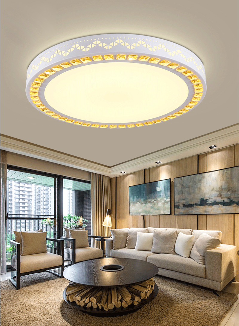 Darvin Led Ceiling Light 40cm/24W 50cm/36W 62CM/48W AC85-265V Indoor Lighting Round ceiling Lamp Bedroom Living Room Lamp metal iron art led ceiling panel light dimmable 12w 36w 48w 72w 108w 960 9720lm indoor lamp square for living room bedroom