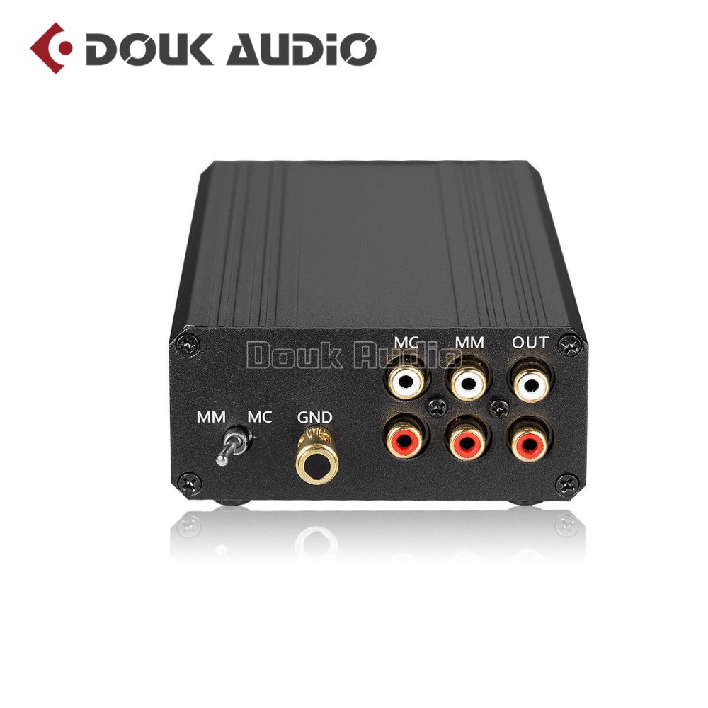 Little Bear T8 HiFi Phono RIAA Preamplifier MM MC Turntable Mini Stereo Audio Pre Amplifier
