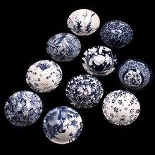 Jia-gui luo 1PCS!!Bue and White Chinese Porcelain Tea Bowl Teacup Set Ceramic Atique Glaze Kung Fu Master Cup