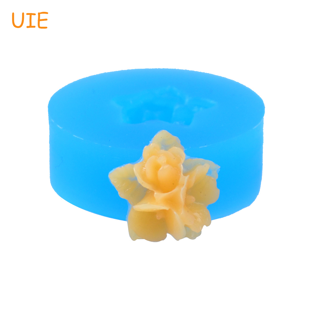 Search For Flights Hyl053u 15.5mm 3d Flower Flexible Silicone Push Mold Fondant Resin Fimo Clay Miniature Sweets Sugarcraft Gum Paste Jewelry