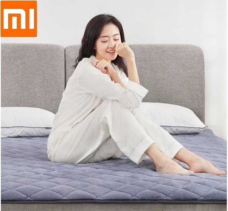 Xiaomi Anti-statique de stockage de chaleur matelas soft pad Confortable Respirant matelas d'hiver garder au chaud Lit matelas