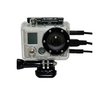 Transparent Open Side Skeleton Protective Housing Case Cover without Lens for Gopro Hero 2 HD Sports Action Camera