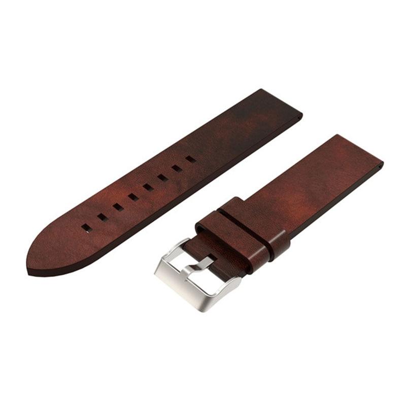 Pulseira de Couro Relógio de Pulso Bracelete para Garmin Banda Genuína Pulseira Assista Fenix Fenix5s 5s Substituição