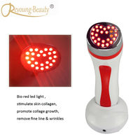 Beauty Spa Heating Infrared Red Led Light Photon Therapy Collagen Stimulation Tighten Wrinkle Spots Removal Skin Firming Machine
