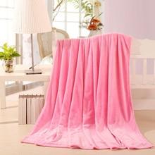 Hot sale 200x230cm Fleece Blanket super warm soft blandets throw winter blanket on Sofa Bed Plane