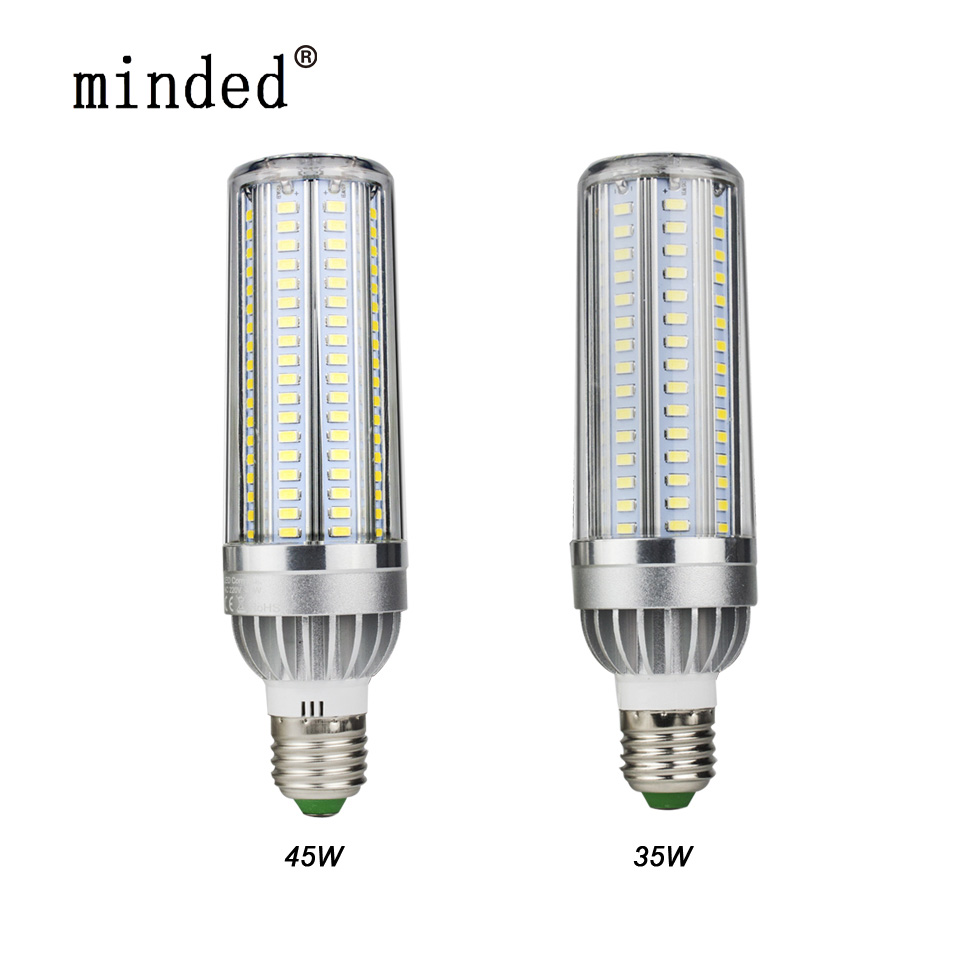 Power Saving High Power Led Corn Bulb 5730 SMD Aluminum Fan Cooling Warm/Cold White 5W 35W 45W E27 LED Lamp Corn light No Strobe lole капри lsw1349 lively capris xs blue corn