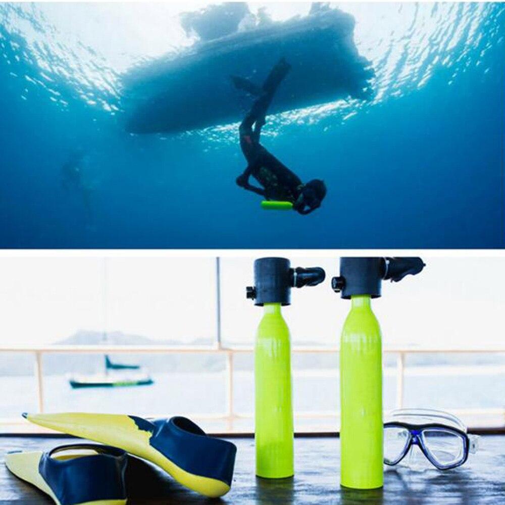 Mini réservoir d'oxygène de plongée sous-marine respirateur respiratoire bouteille d'oxygène équipement de natation adulte - 5