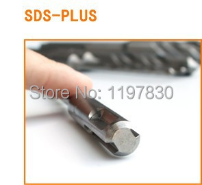 6PCS/pack 6-16*200mm Solid alloy Tip SDS Plus Round Shank 4 hollow Hammer Drill Bit for concrete/brick/wall/tile/granite stones bricks concrete cement stone 50mm wall hole saw drill bit 200mm round rod