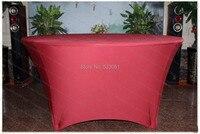 בורדו אדום ספנדקס לוח כיסוי / מפת שולחן לייקרה / אבנט כיסא / כיסא כיסוי / מלון מפית למסיבת חתונה משתה קישוטים לבית