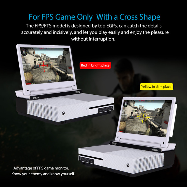 G-STORY 11.6'' HDR FHD 1080P Portable Eye-care Gaming Monitor For Xbox One S and Xbox One X 4