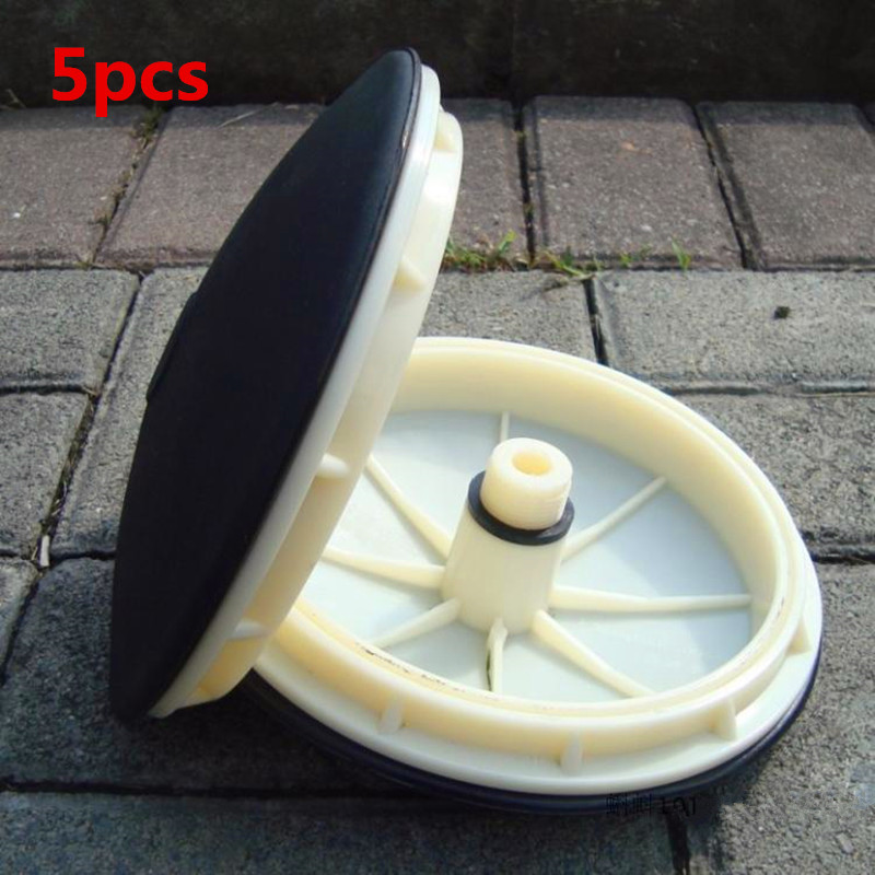 size 215mm Efficient EPDM Diaphragm Aerator Microporous Rubber Diaphragm Aeration Panel Wastewater Treatment Air Diffuser Parts