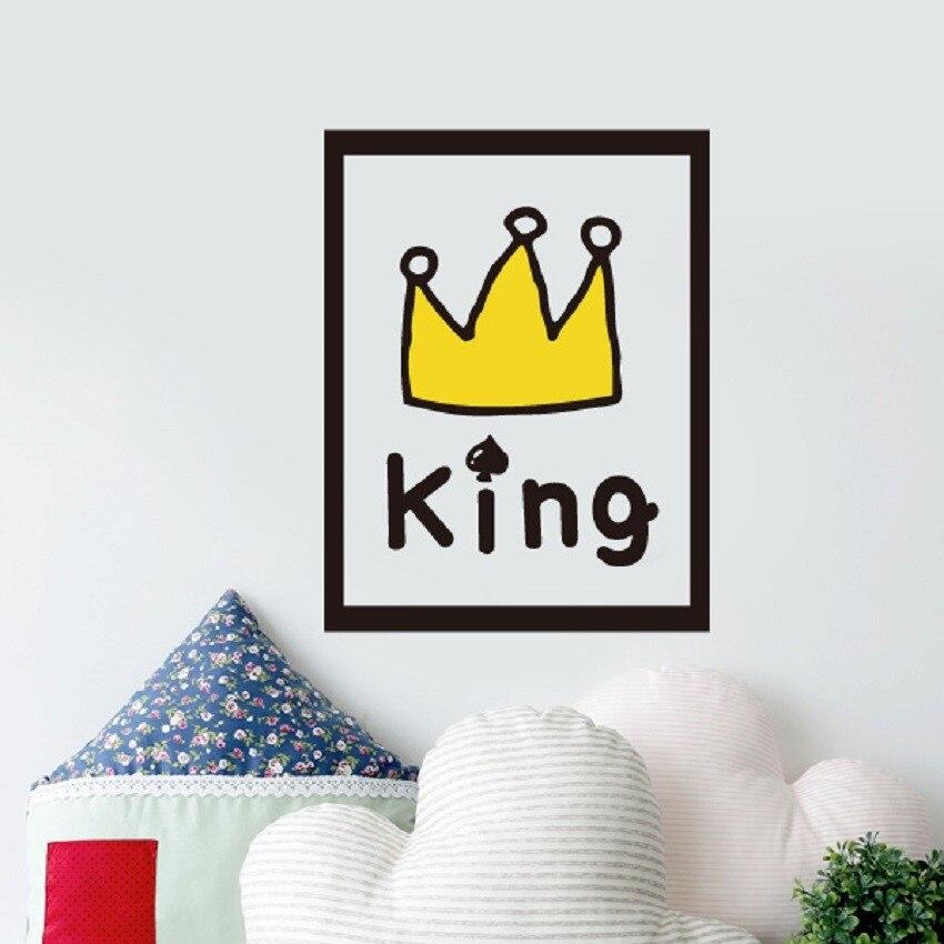 Balleenshiny ПВХ стены Стикеры Nordic Стиль настенные DIY украшения Наклейки на стену детская комната декоры Гостиная