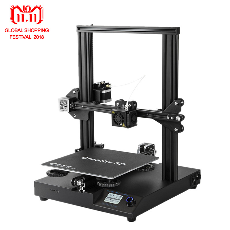 2018 Date Creality 3D Imprimante CR-20 3D Imprimante Kit 24 v Soutien Cv Après Mise Hors Tension Avec Mise À Niveau CR-10S V2.1 conseil