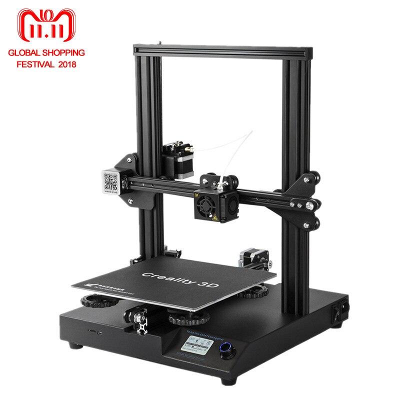 2018 I Più Nuovi Creality 3D Stampante CR-20 3D Stampante Kit 24 v Supporto Riprendere Dopo Lo Spegnimento Con Aggiornamento CR-10S V2.1 bordo