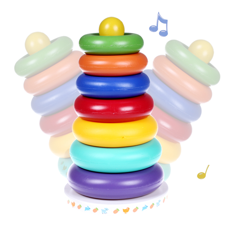 Պլաստիկ կոճակված երաժշտական - Խաղալիքներ նորածինների համար - Լուսանկար 1
