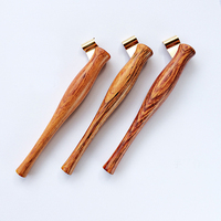 Hand Made Solid Wood Oblique Calligraphy Pen Holder English Copperplate Script Antique Dip Pen