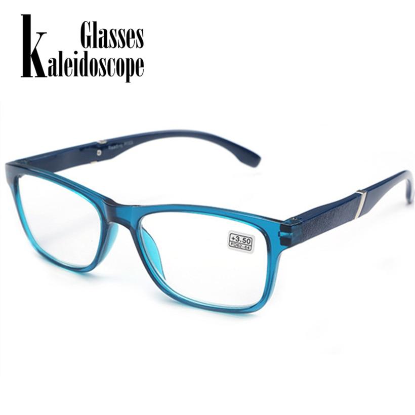 Kaleidoscope Glasses Hyperopia Reading Glasses Men Women Resin Lens Presbyopic Reading Glasses 1.5 +2.0 +2.5 +3.0 +3.5+4.0