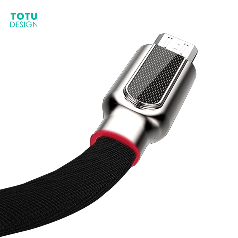 TOTU Micro USB Cable For Samsung Xiaomi Huawei  2.4A Fast Charging Data Sync Microusb Charger Cables Android Mobile Phone Cable|Mobile Phone Cables| |  - AliExpress