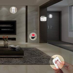 Image 4 - GSM Alarm System For Home Security System with Metal remote Door Sensor Dual Antenna Burglar Alarm Home Alarm System Signaling