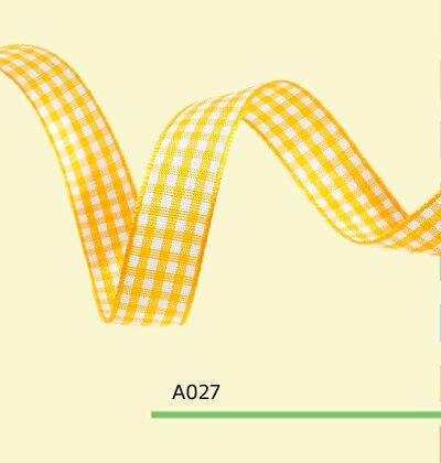 0 75 Inch 1 8cm font b tartan b font plaid ribbon