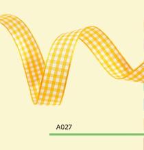 0.75″ Inch 1.8cm tartan plaid ribbon
