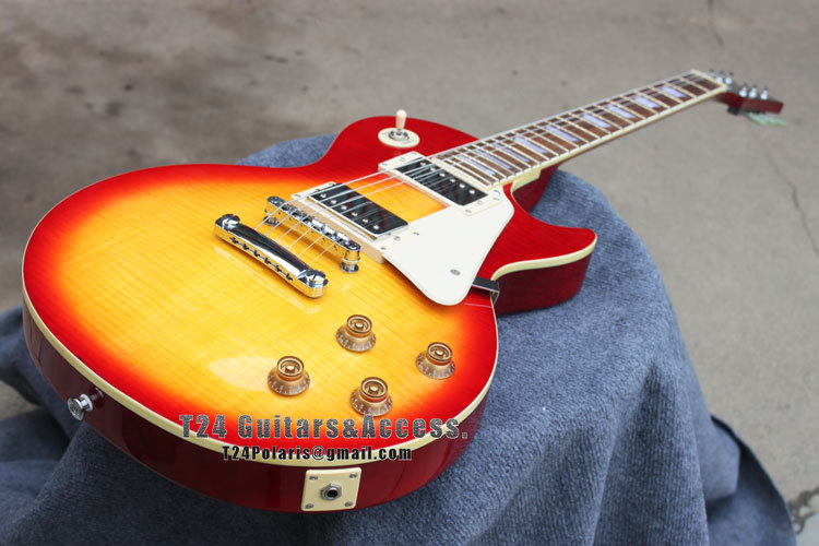 best price custom shop vintage standard 1959 cherry burst maple top electric guitar free. Black Bedroom Furniture Sets. Home Design Ideas