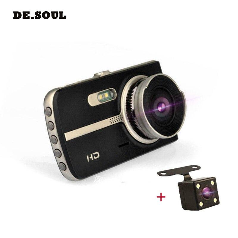 PARASOLANT 4-inch HD 1080P Car DVR Auto Video Camera Driving Recorder Night Vision Wide Angle Black Box Dash Cam Car DVR bf 503 1 5 tft hd cmos 170┬░ wide angle ir night vision car dvr loop video recorder w 4 led black