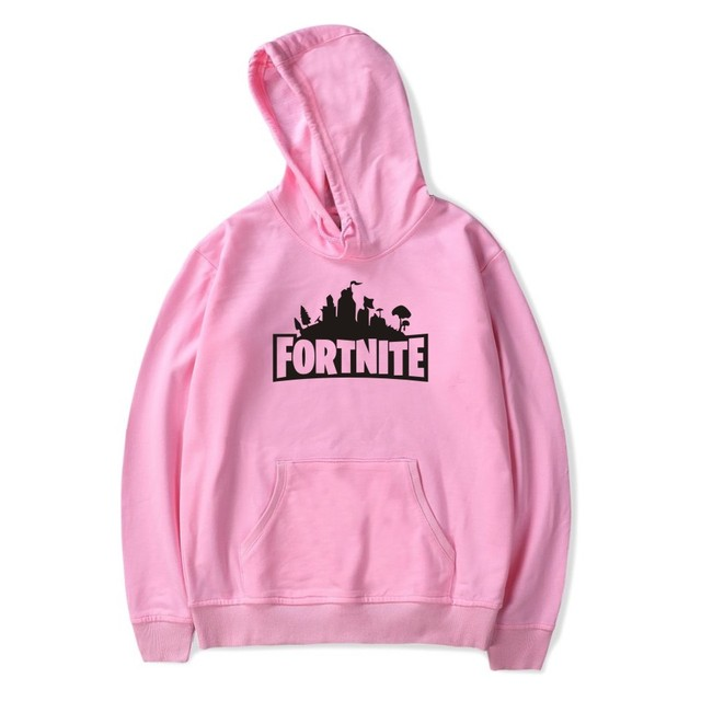 Fortnite Hoodies Casual Long Sleeve Hoodies Streetwear Hip Hop Male Pullover Winter Keep Warm Hoody Fortnite