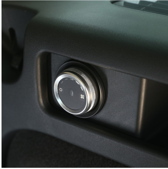 Aluminum Air Conditioning Knobs Ring Trim For Land Rover Discovery Sport 2015 2017 Car Accessory Styling in Car Stickers from Automobiles Motorcycles