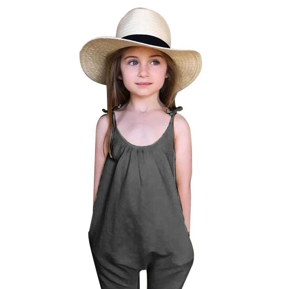 Lányok Jumpsuits Nyár összességében a lány szett baba lányok - Gyermekruházat