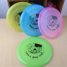 New font b Pet b font Frisbee Cartoon Face Dog Flying Disk High Quality Plastic Dog