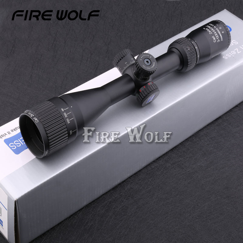 New Style Carl Zeiss 3-12x44 AOE Optics Rifle Scope Fold Design Long Eye Relief Rifle Scope Air Rifle Hunting Riflescope 31cm j 20 stealth fighter j20 model no 2002 plane model simulation model of 1 72 alloy china air force of the cpla