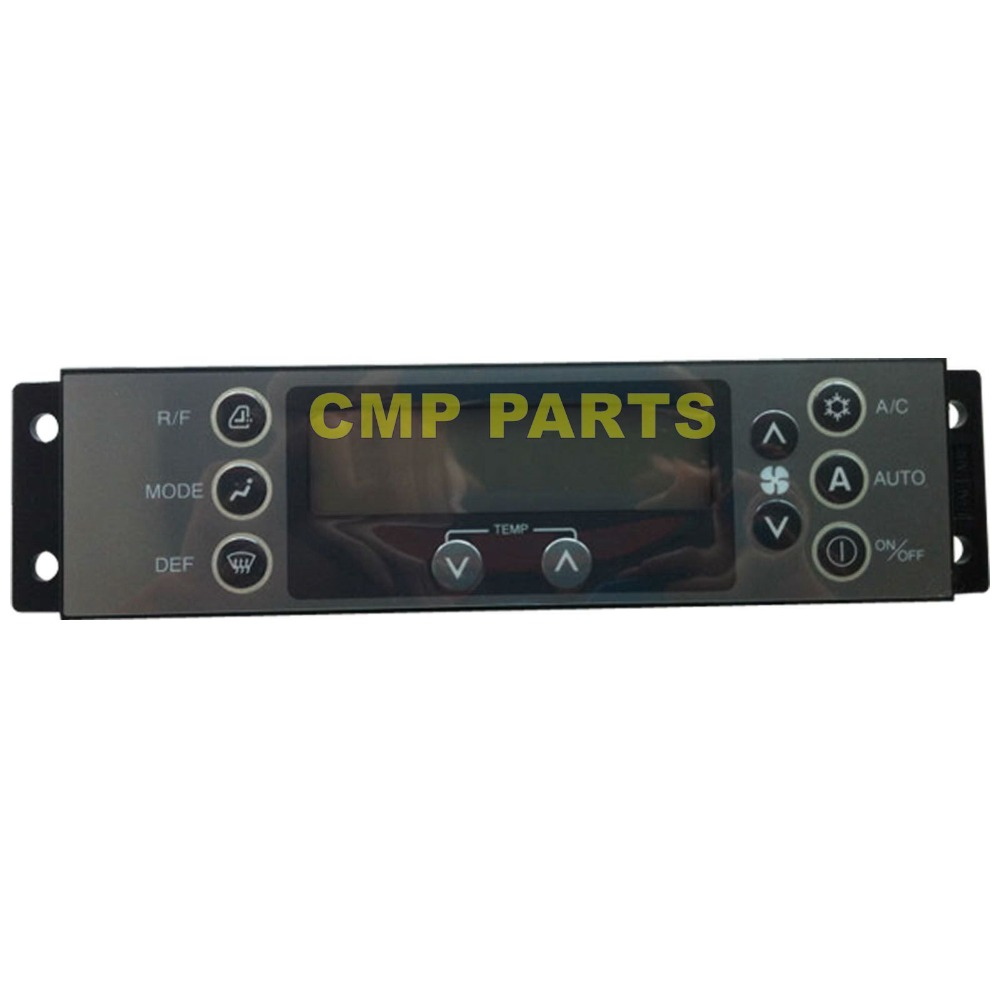 Air Conditioner Control Panel KHR12512 KHR-12512 For Sumitomo SH210-5 ExcavatorAir Conditioner Control Panel KHR12512 KHR-12512 For Sumitomo SH210-5 Excavator